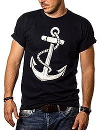 Herren T-Shirt mit Aufdruck ANKER Größe S-XXXL