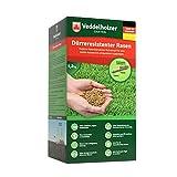 Veddelholzer Garten Rasenpellets Dürreresistenter Rasen - Rasensamen für robusten und widerstandsfähigen Rasen - Grassamen für 40 m² zur Einsaat und Nachsaat - Samen geeignet für...