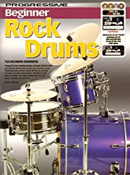 Progressive: Beginner Rock Drums (Book/CD/2DVDs/DVD-ROM). 2 x DVD (Région 0), DVD-Rom, CD, Partitions pour Batterie