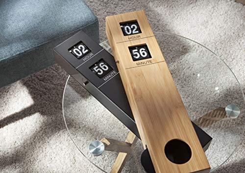 Horloge avec pendule Oslo, en bois, Amadeus