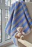 Baby Decke Kinder stricken Decken Wolle Taufe Bettwäsche werfen Neugeborenen BABY GESCHENK Baby Junge Geschenk Kleinkind Abdeckung Deckel Wolldecke wickeln