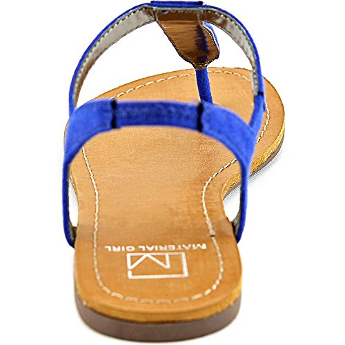 Material Girl Sage Toile Sandale Cobalt