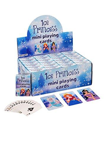 Stelle deinen Kinder Spielzeug Adventskalender selber zusammen Spielsachen Mädchen Junge einzelne kleine Spielware Paket (Prinzessin Kartenspiel Mini) - E-mail Kunststoff Umschläge,