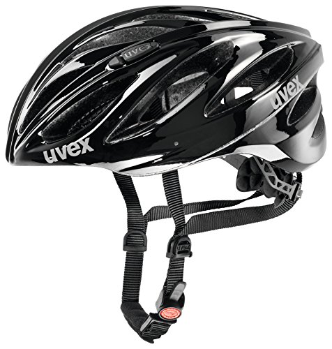 Uvex Boss Race Fahrradhelm, black, 52-56 cm -