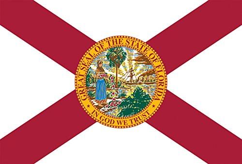 Toland Home Garden Florida State Flag 28x101,6 cm Deko USA House Flagge