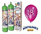 Kit Gas Helium Gasflasche mit 25 Luftballons 18 Jahre Fliegende Geburtstag Dekorationen …