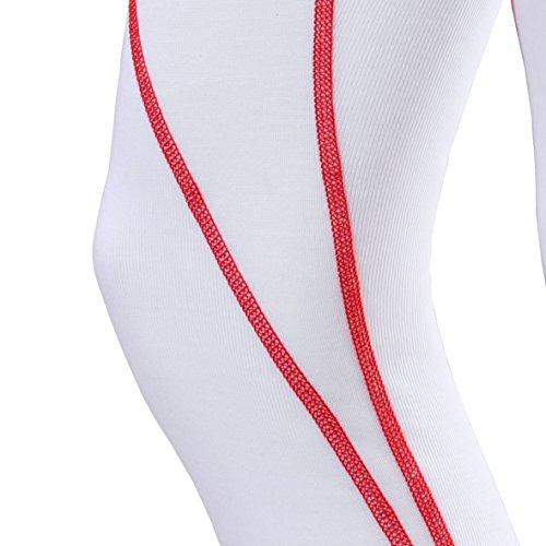 Odlo Warm Trend Collant pour femme Multicolore blanc