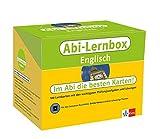 Klett Abi-Lernbox Englisch: 100 Lernkarten mit den wichtigsten Prüfungsaufgaben und Lösungen