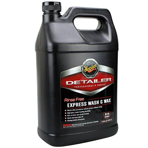 Meguiar`s Rinse Free Express Wash & Wax Gallone D11501 3,785L (Auto Gallone Waschen)