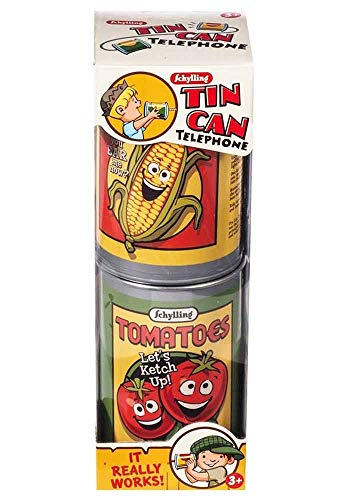 Preisvergleich Produktbild Mr.Giggelz Dosen Telefon - Tin Can Telephone