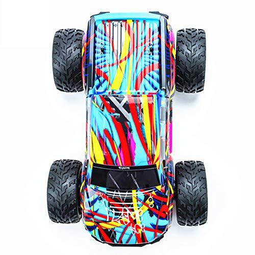 Qiulv 1:10 wd rc auto 2.4 g quattro ruote unità colorato camion 40km/h alta velocità remoto controllo arrampicata fuoristrada veicolo per adulto e bambini