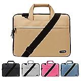 13 Zoll Laptop Tasche mit Schultergurt, Hülle Tasche Aktentasche für 13-13.3 Zoll Laptops / MacBook / Notebook