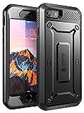 Coque iPhone 8, SUPCASE Unicorn Beetle Pro Étui de Protection Robuste Complet avec Protecteur d'écran Intégré pour Apple iPhone 8 2017 / iPhone 7 2016 (Noir)