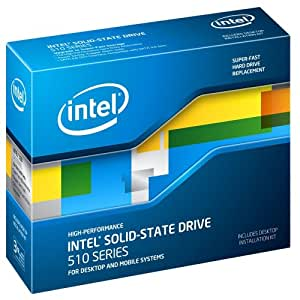 """Intel 510 - solid state drives (White, Serial ATA III, 2.5"""", Wired, 65/80, 1 sector per 1016)"""