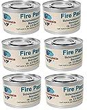 6 x Dosen Brennpaste Fire Paste von Gastro-Bedarf-Gutheil®