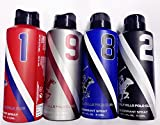#6: Beverly Hills Polo Club 1,9,8,2 - Deodrant Spray for Men-Combo of 4 (175 ml each)