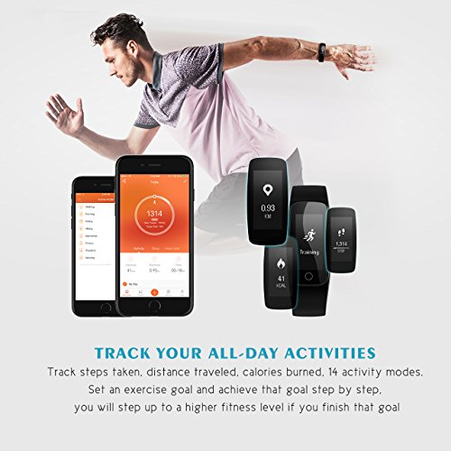 Fitness Tracker, Mpow Bluetooth 4.0 - 4