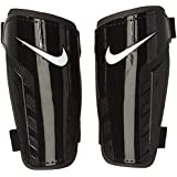 Nike Park Guard - Espinillera, color negro / blanco, talla M