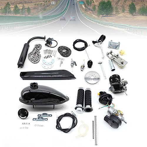 2-Takt 80cc Moteur Motorisierte Gas Fahrrad Benzin Hilfsmotor Motor Engine 2.2kW