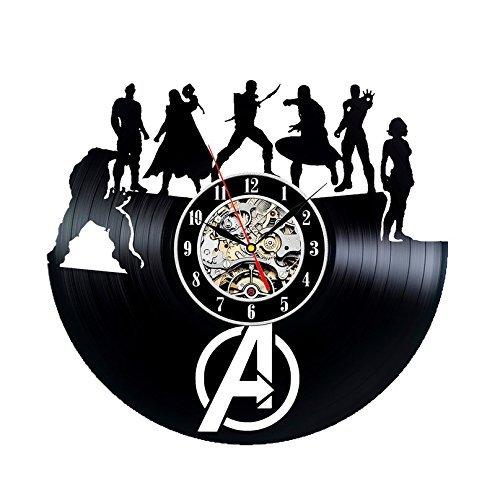 eative Vinyl Uhr Weihnachtsgeschenk (Avengers Geburtstag Thema)