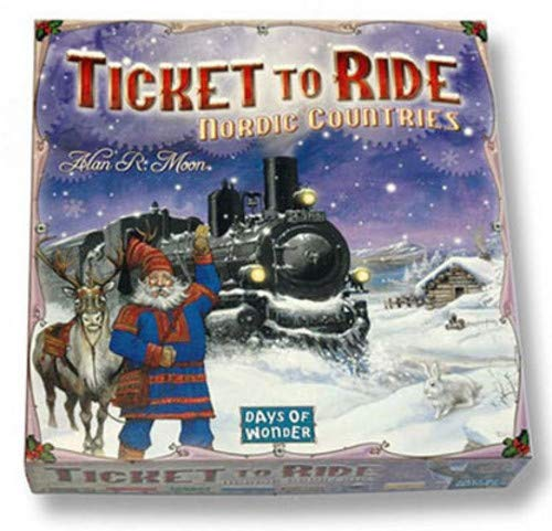 Ticket TO Ride Nordic Countries [Importato da UK]