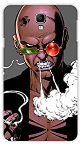 Crazy Beta ANGRY MAN DESIGN Printed Back Cover for Samsung Galaxy Note 3 Neo