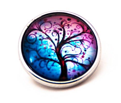 sekka jewelry® Click-Button bunter Wunder Baum 2 - CH3950