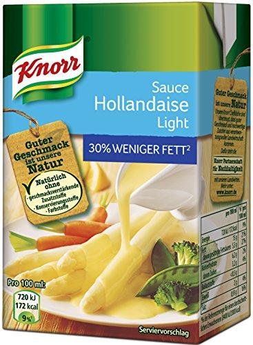 Knorr Sauce Hollandaise Light, 4er Pack (4 x 250 ml)