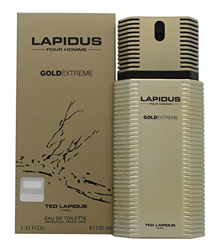 Ted Lapidus Lapidus Gold Extreme Eau de Toilette 100ml Spray