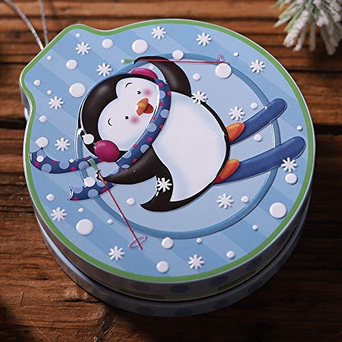 Cookie Kostüm Smart - VICKY-HOHO für Weihnachtsbaum Ornament Runde Cookie Jar Süßigkeiten Aufbewahrungsbox Kinder Geschenk