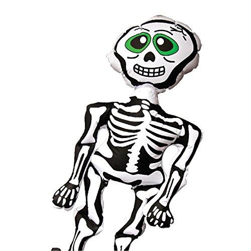 Halloween aufblasbar Party Dekoration Scary Spooky Kürbis Spinne Fledermaus Skelett Kids Fun Trick or Treat Horror Blow Up Ballon, Spooky (Up Halloween Dekoration Blow)