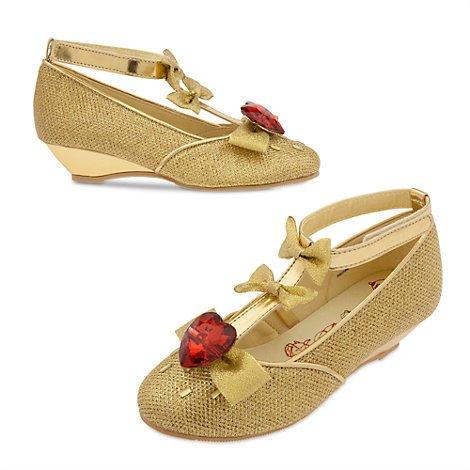 Authentische Vorlage Disney Store - Prinzessin Belle aus Die Schöne und das Biest - Belle Luxus-Schuhe für Kinder - Größe; EU 24 - 26 ..... UK 7 - (Belle Schuhe)