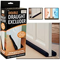 TWIN DRAFT DRAUGHT GUARD EXCLUDER INSULATOR HOT/ COLD