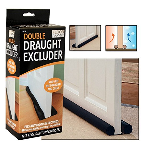 TWIN DRAFT DRAUGHT GUARD EXCLUDER INSULATOR HOT/ COLD Test