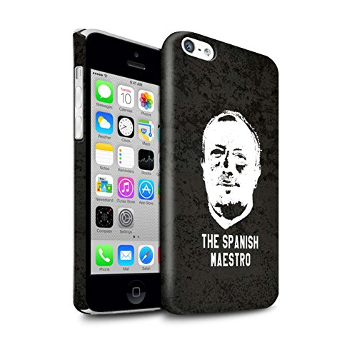 Officiel Newcastle United FC Coque / Clipser Brillant Etui pour Apple iPhone 5C / Pack 8pcs Design / NUFC Rafa Benítez Collection Maestro Espagnol