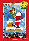 Fischer Fensterbild EILZUSTELLUNG / Bastelpackung mit ENGLISCHER ANLEITUNG / ca. 67x88 cm / zum Selberbasteln / Basteln mit Papier und Pappe für Weihnachten