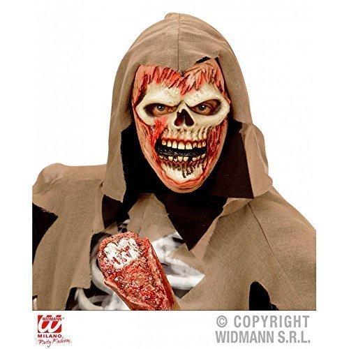 Preisvergleich Produktbild Einfache Gesichtsmaske / Latexmaske Soul Reaper Zombie für Kinder