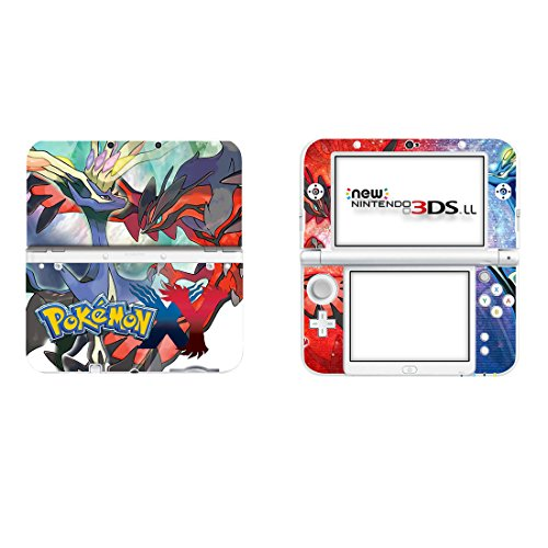 Nintendo New 3DS XL Schutzfolien Set - Pokemon (2) /New 3DS XL