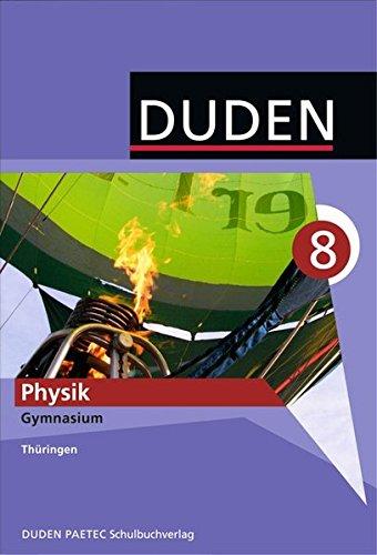 Duden Physik 8. Schuljahr Schülerbuch Gymnasium Thüringen