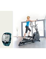 Horizon Fitness Elliptical Crosstrainer Andes 8i Ergometer und FT1 Polar Pulsuhr und T31 Brustgurt