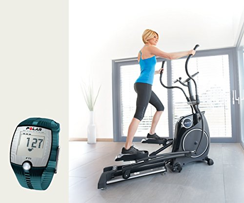 Horizon Fitness Elliptical Crosstrainer Andes 8i Ergometer und FT1 Polar Pulsuhr und T31 Brustgurt