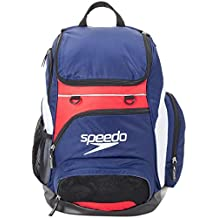 Speedo T-KIT Teamster Mochila, Unisex Adulto, Azul (Navy / Red)