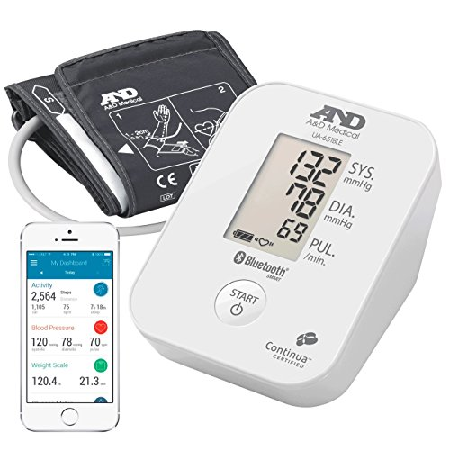 A&D Medical-651BLE Tensiómetro de Brazo