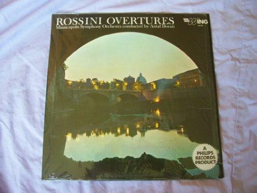 WL 1086 Rossini Overtures MSO Antal Dorati LP