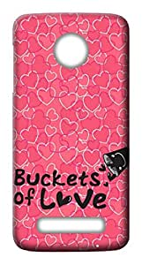 Mott2 Back Case for Motorola Moto Z Play | Motorola Moto Z PlayBack Cover | Motorola Moto Z Play Back Case - Printed Designer Hard Plastic Case - love theme