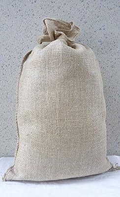 10 Jutesäcke 50 x 85 cm Kartoffelsäcke 25 Kg Jute Sack Säcke