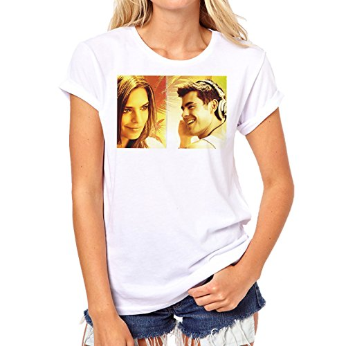 We Are Your Friends Movie Summer WAYF Love Avatar In Yellow Background Damen T-Shirt Weiß