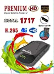 SATELLITE Mini HD Receiver 1717 wifi support H.265 system