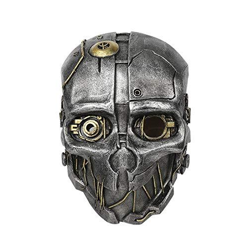 VAWAA Frp Dishonored 2 Corvo Attano Maske Dishonored Corvo Attano Helm Für Cosplay Spiel Kostüm Zubehör (Dishonored Kostüm Party)