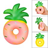 Winkey Toy for Kids,Squishy Doughnut Pineapple Rising Squeeze Charm Kawaii Toy Stress Reliever Toys